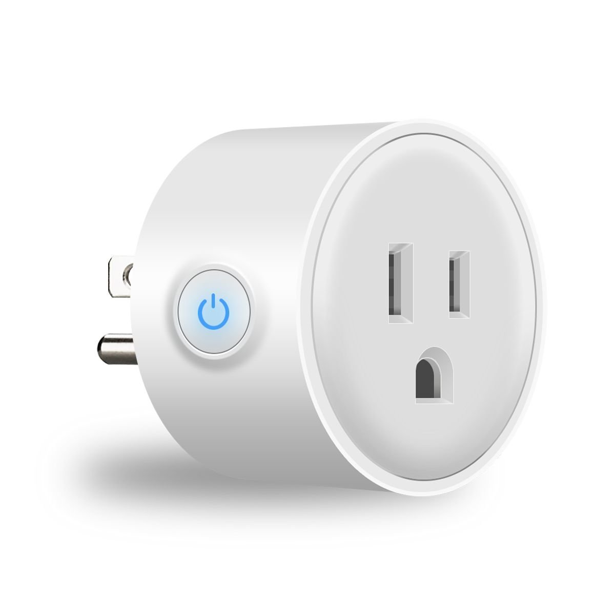 WiFi Smart Plug 2 Packs Mini Smart Outlet with Timing Function,Work with Amazon Alexa&Google Assistant IFTTT,No Hub Required,Remote Control your Appliances from Anywhere Anytime