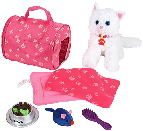 Click N' Play Doll Kitten Set and Accessories