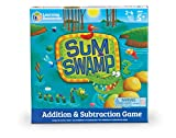 learning math for kids - Learning Resources Sum Swamp Game, 8 Pieces