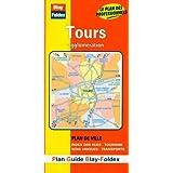 Plan de ville : Tours (avec un index)