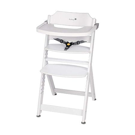 Safety 1st Timba, mitwachsender Hochstuhl aus massivem Buchenholz, inkl. abnehmbarem Tisch, ab 6 Monate bis ca. 10 Jahre (max