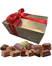 Leonidas Belgian Chocolates | All Milk Chocolates in a Beautiful Gift Ballotin Box. Imported fine Chocolate from Belgium (1 x 32pc 500g)