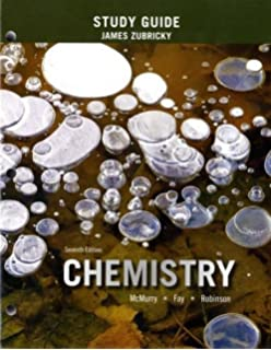 Chemistry 6th edition john e mcmurry robert c fay student study guide for chemistry fandeluxe Images