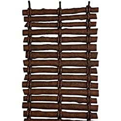 Rubber Garden Pathway Mat ,Wood Like Walkway - Set of 2 - 5 Ft