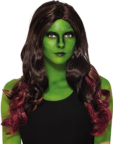 Rubie's Costume Cosecret Wishes Women's Guardians of The Galaxy Gamora, GOTG, Wig