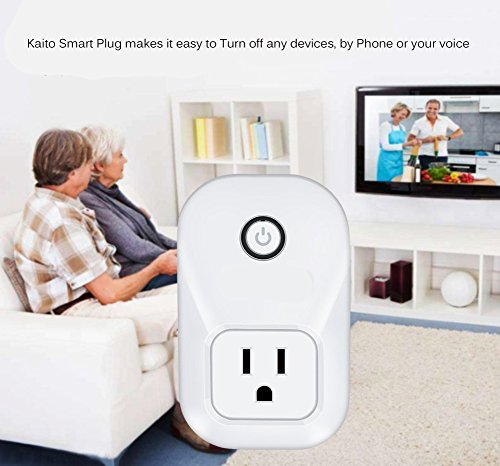 Alexa Smart Plug Wi-Fi Kaito No Hub Required Wireless Timing Smart Socket Remote Control your Devices for Smart Home Compatible with Alexa Echo Dot, Echo Tape and Amazon Echo, KA402 by Kaito (Image #2)