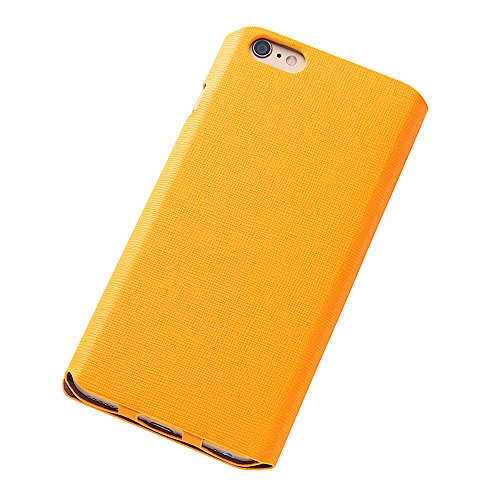 Colorful Slim Leather Style Case for iPhone 6 Plus (Yellow)