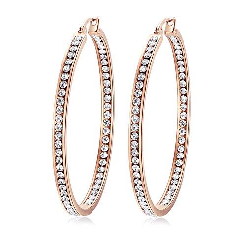 Stainless Steel for Women Jewelry Hoop Earrings 2
