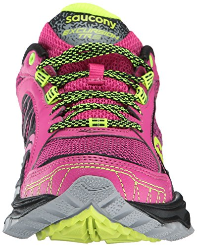 Saucony GRID EXCURSION TR9 PINK/GREY/CITRON 7.5 US
