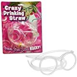 CRAZY KIDS WACKY DRINK DRINKING STRAW TUBE GLASSES NOVELTY GAMES PARTY FUNKY FUN