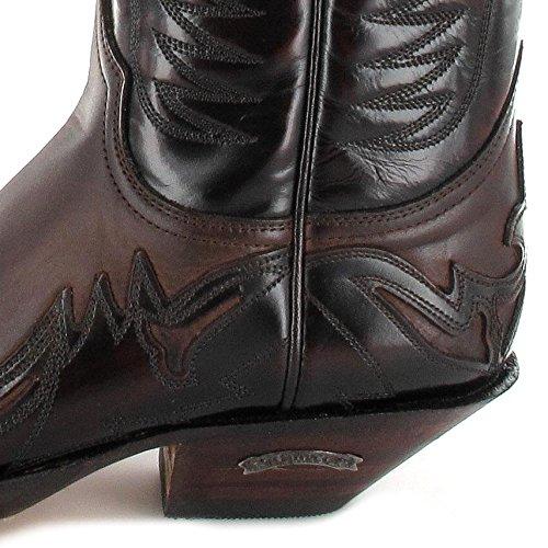 Sendra Støvler 3241 Florentic Negro Neger Sprinter Vestlige Støvler Til Kvinder Og Mænd Sorte Fuchsia ei4v5G