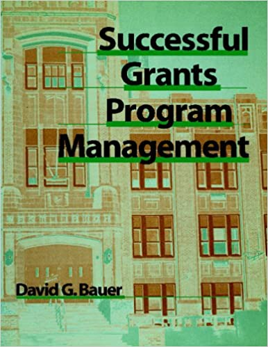 Book Successful Grants Program Management
