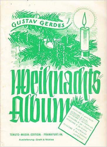 Weihnachtslieder Texte Sammlung.Gerdes Weihnachts Album Sammlung Der Beliebtesten