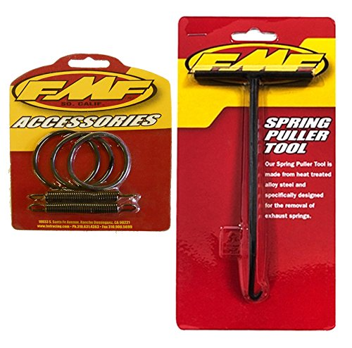 Exhaust O-ring - FMF Exhaust Spring Puller & Pipe Springs/O-Rings Kit - Yamaha YZ125 - 1989-1998 _011315|011231