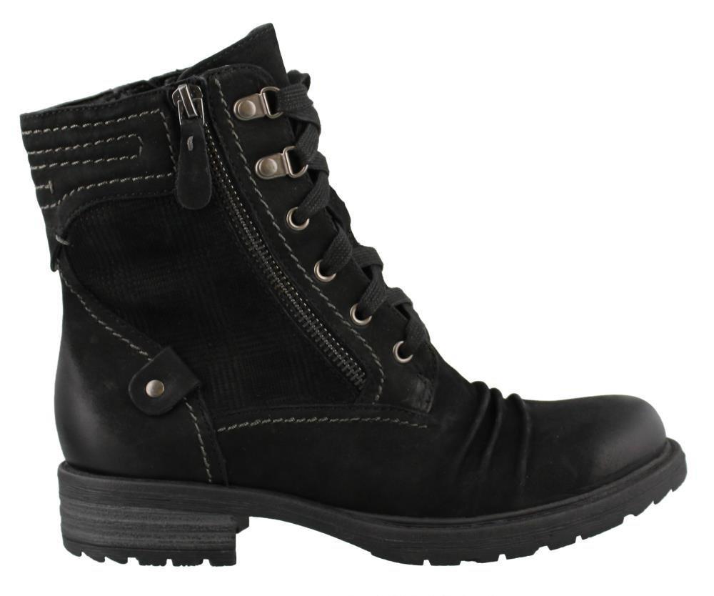 Earth Women's Summit Hiking Boot,Black Vintage Leather,US 9 M