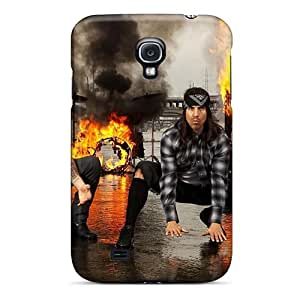 Samsung Galaxy S4 Rln16946tZBc Allow Personal Design Stylish Red Hot Chili Peppers Series High Quality Hard Phone Case -DannyLCHEUNG