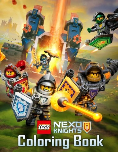 LEGO Nexo Knights Coloring Book: Great Book for LEGO Fans