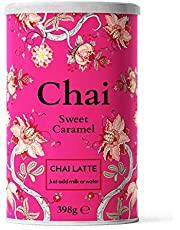 Nordic Roast | Chai Latte Tea | Sweet Caramel | 398g | Pulvermix Instant Chai Latte, Kryddigt svart te med mjölk. Till hemmabruk, caféer, kaffebarer och restauranger | Till 15 koppar