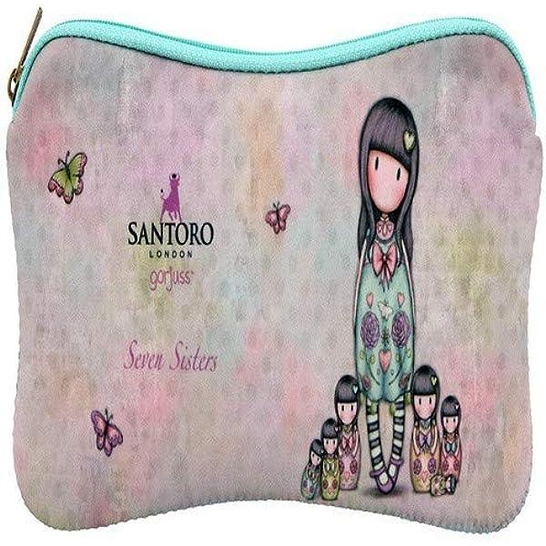 Santoro - Gorjuss Seven Sisters - Funda Portatodo de Neopreno: Amazon.es: Oficina y papelería