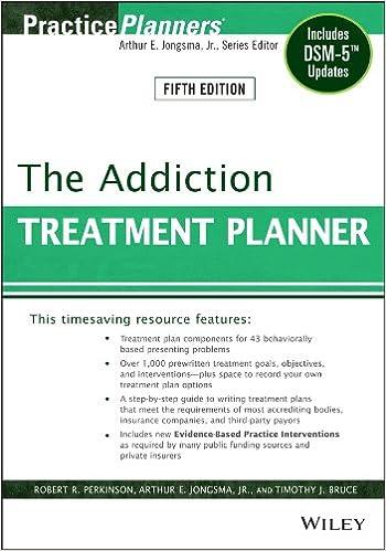 Amazon Com The Addiction Treatment Planner Includes Dsm 5 Updates