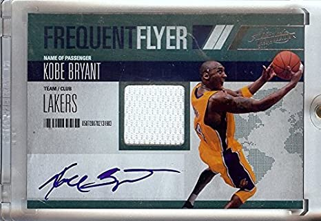 f3514066dce9 Amazon.com  Kobe Bryant 2010-11 Absolute Frequest Flyer Jersey Auto ...