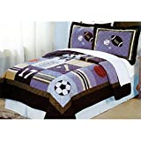 PEM America All State Multicolor Quilt Set - Twin