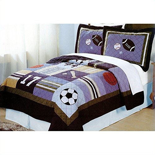 Pem America All State Quilt Set (Twin)