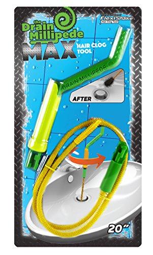 FlexiSnake MAX1H2W-25-1009 Drain Millipede Max Hair Clog Tool by FlexiSnake (Image #2)