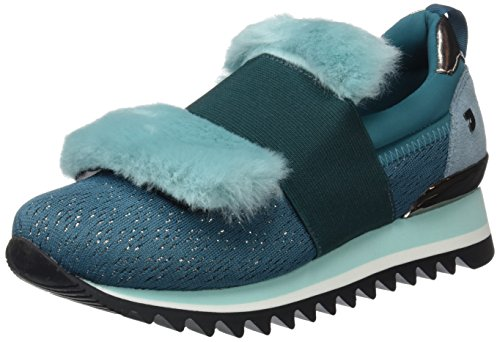 Gioseppo 30624, Sneakers Basses Femme, Turquoise (Aguamarina), 39 EU