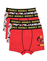 Incredibles 2 Boys Boxers - Pack of 4 Kids Underwear