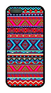 Aztec Tribal Pattern Theme Iphone 5 5S Case TPU Material by ruishername