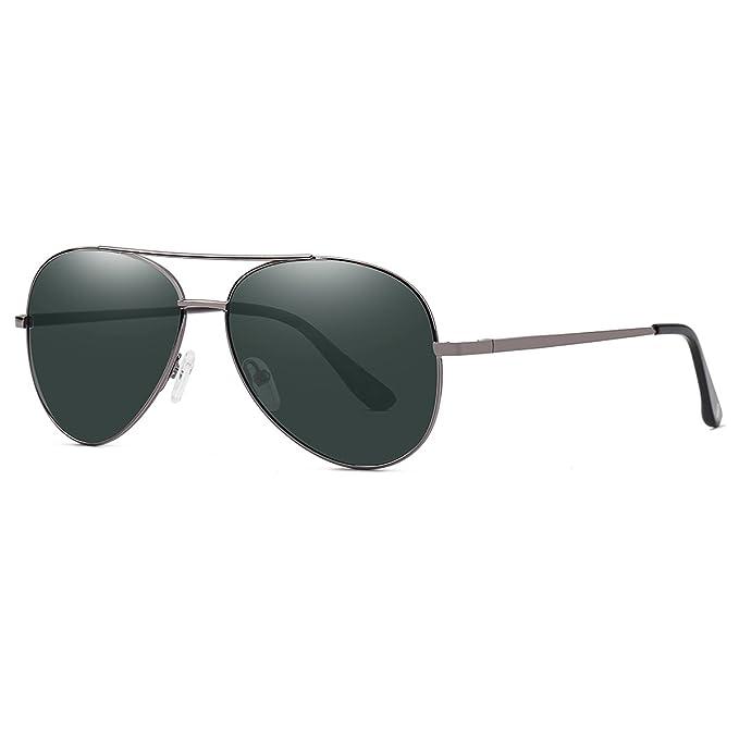 YUFENRA Lente Antirreflejante Completo Aviador UV400 Gafas de Sol Para Hombre y Para Mujer