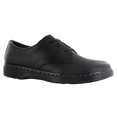 Dr.Martens Mens Andre Black Leather Shoes 7 UK Yqazv3yhJ