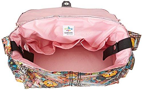 Kalencom Laminated Buckle Bag, Retro Floral by Kalencom (Image #4)