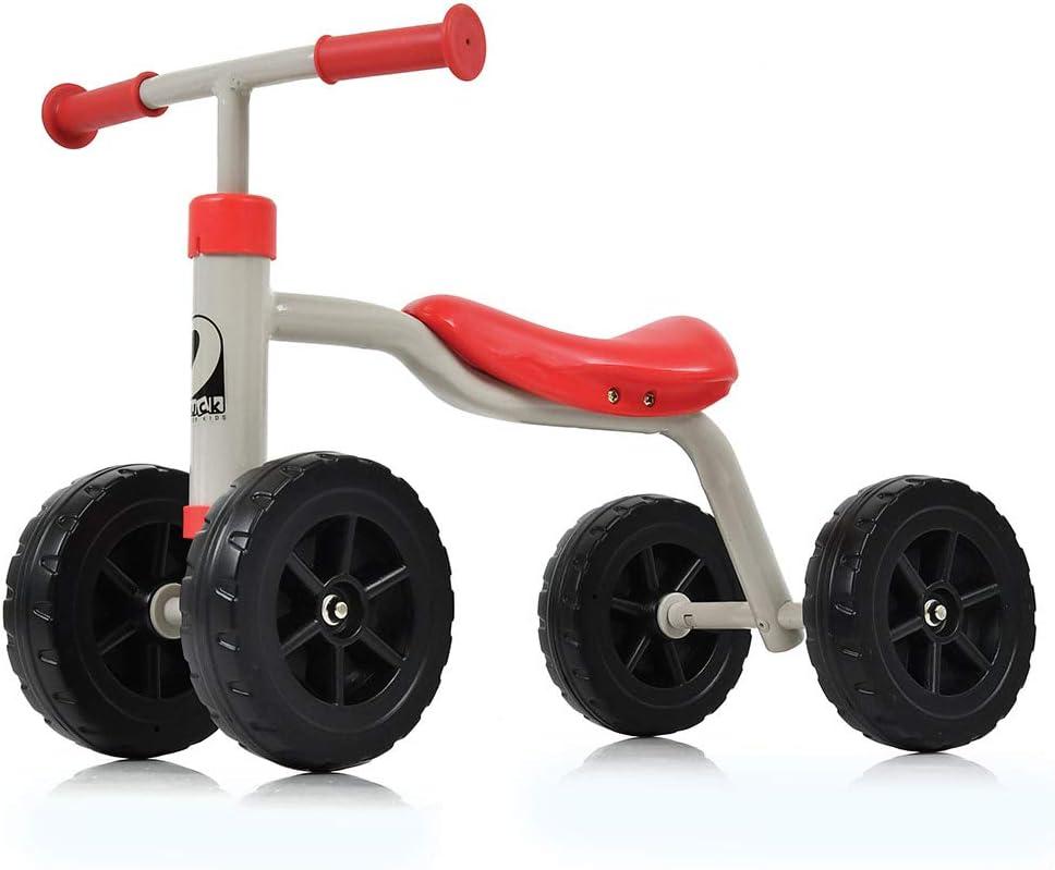 Hauck Toys For Kids Bicicleta sin Pedales para bebés First Ride - Correpasillos Robusto y Seguro (antivuelco) para niños de 1 a 3 años - Rojo: Amazon.es: Juguetes y juegos