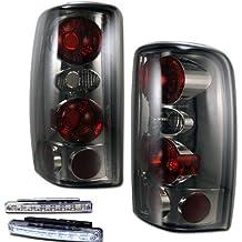 2000-2006 TAHOE/SUBURBAN REAR BRAKE TAIL LIGHTS SMOKED LENS+LED BUMPER RUNNING