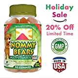 Nommy Bears Gelatin Free Multivitamin Gummies for Kids & Adults Too | Vegetarian