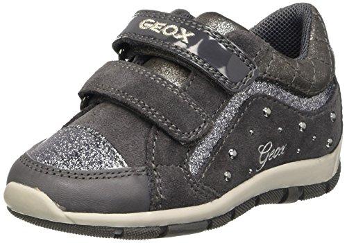 Geox B Shaax B, Botines de Senderismo para Bebés Gris (DK Grey C9002)