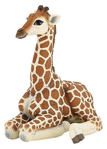 Papo Lying Giraffe Calf Figure (Giraffe Figurines)