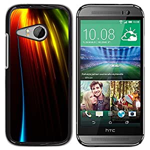Planetar® ( Drops Of The Sun Fiery Rays ) HTC ONE MINI 2 / M8 MINI Fundas Cover Cubre Hard Case Cover