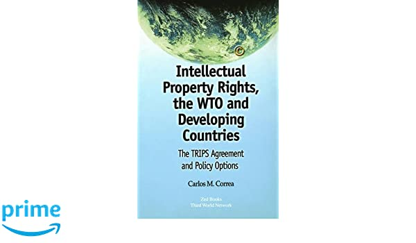 Intellectual Property Rights The Wto And Developing Countries The