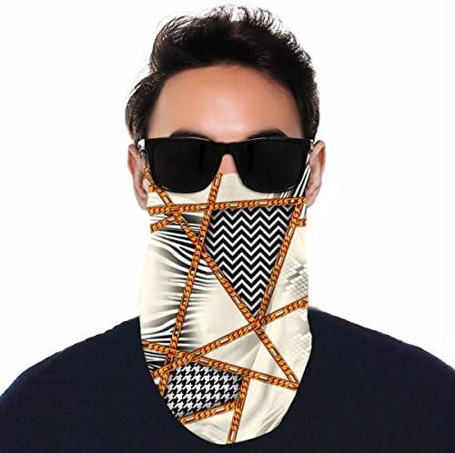 フェイスカバー Uvカット ネックガード 冷感 夏用 日焼け防止 飛沫防止 耳かけタイプ レディース メンズ Animal Skin Fabric Pattern