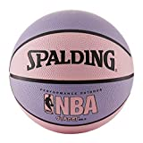 Spalding NBA Street Basketball - Pink & Purple  - Intermediate Size 6 (28.5')
