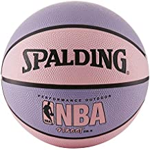 NBA Street Basketball - Pink & Purple - Intermediate Size 6 (28.5
