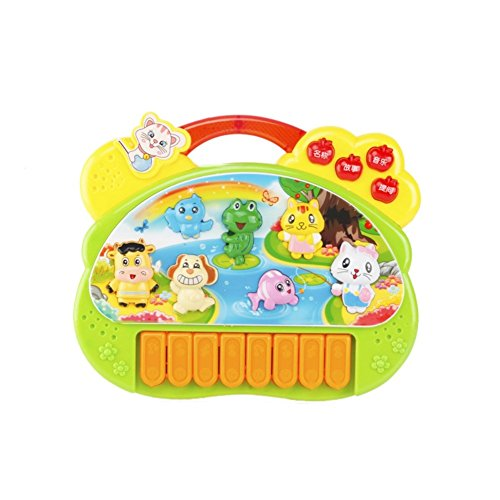 Balai Baby Piano Music Toy - Musical Educational Piano Animal Farm Developmental Music Toy for Infant Toddlers Kids Children Educational Toy Early Childhood Toy Music Game Cute Toy