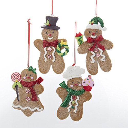Kurt Adler Gingerbread Boy And Girl Ornament (Ginger Bread Boys compare prices)