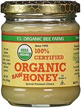 100% Certified Organic Raw Honey 8 oz Paste by Y.S. Eco Bee Farm [Foods] ()