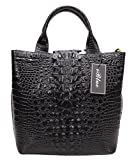 Iblue Satchel Top Handle Bag Lady Crocodile Leather Designer Tote Shoulder Purse 12in #W061 Reviews (Free Shipping Available)