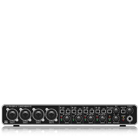 Behringer T-foria UMC404HD: Amazon.es: Instrumentos musicales
