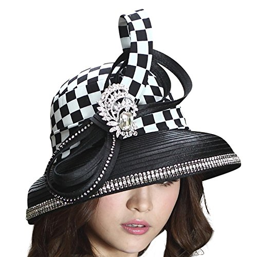 6e796889990 June s Young Women Hats Formal Style Top Hat Big Bow